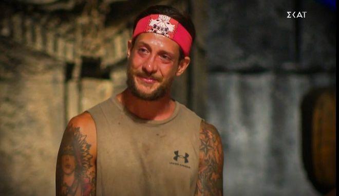 Ο Ηλίας Μπόγδανος στο Survivor 4