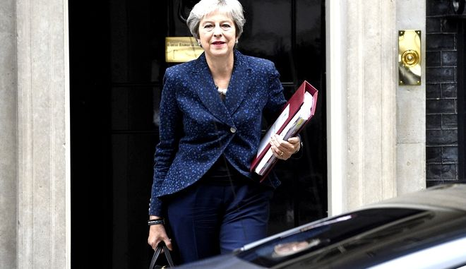Η Βρετανίδα πρωθυπουργός Tερέζα Μέι