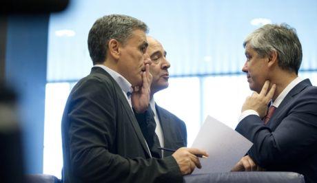 Οι υπουργοί Οικονομικών της ευρωζώνης στο eurogroup που σήμανε και επίσημα τη λήξη του τρίτου μνημονίου και τα μέτρα ελάφρυνσης του χρέους