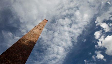 Συννεφιασμένος ουρανός στα Τρίκαλα