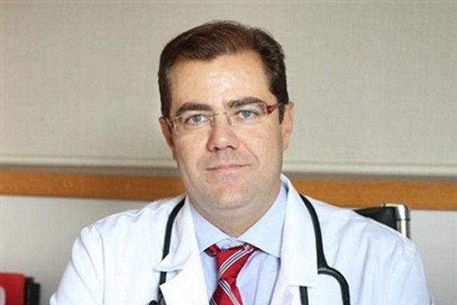 Ο γιατρός Ευάγγελος Φραγκούλης.