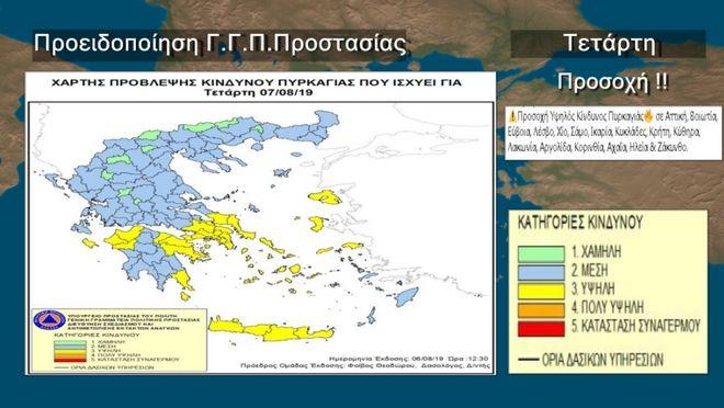Θερμοκρασία σε άνοδο την Τετάρτη - Μελτέμι στο Αιγαίο