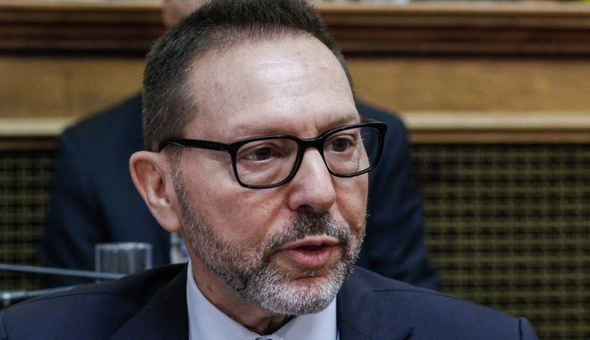 O Διοικητής της Τράπεζας της Ελλάδος, Ιωάννης Στουρνάρας.