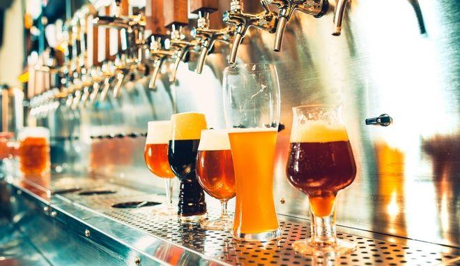 Μπύρες (φωτογραφία αρχείου)