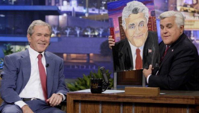 O Τζορτζ Μπους τζούνιορ και ο Ρέμπραντ που κρύβεται μέσα του