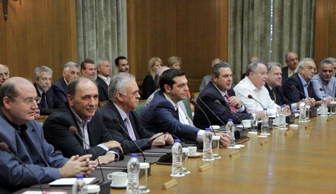 Συνεδρίαση του Υπουργικού Συμβουλίου την Παρασκευή 25 Σεπτεμβρίου 2015, στην Βουλή. (EUROKINISSI/ΓΙΑΝΝΗΣ ΠΑΝΑΓΟΠΟΥΛΟΣ)