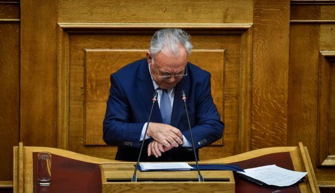 O υπουργός Οικονομίας Γιάννης Δραγασάκης