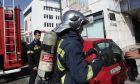 Πυροσβέστες στο Μαρούσι - Φωτογραφία αρχείου