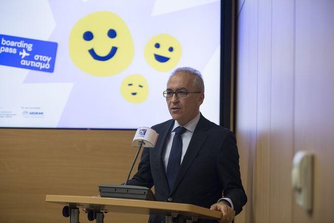 Ο Διευθύνων Σύμβουλος της AEGEAN, κ. Δημήτρης Γερογιάννης