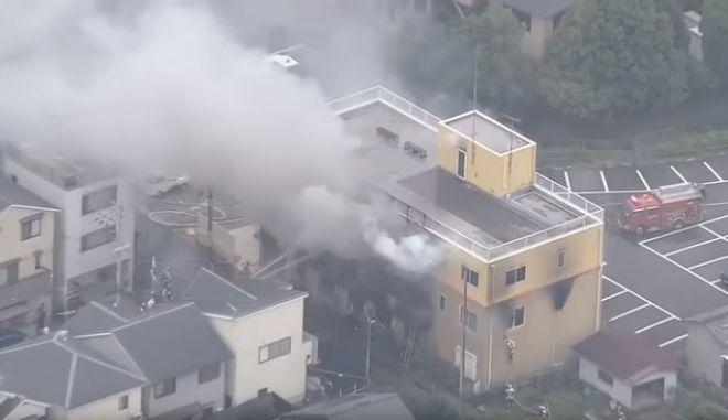 Τραγωδία στην Ιαπωνία: Τουλάχιστον 24 νεκροί από τη φωτιά σε στούντιο animation