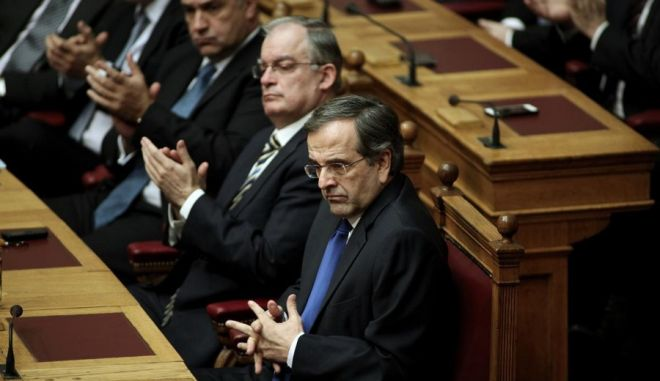 Parliamentary voting for the election of the new Greek President, in Athens, Dec. 17, 2014 /         ,  , 17 , 2014