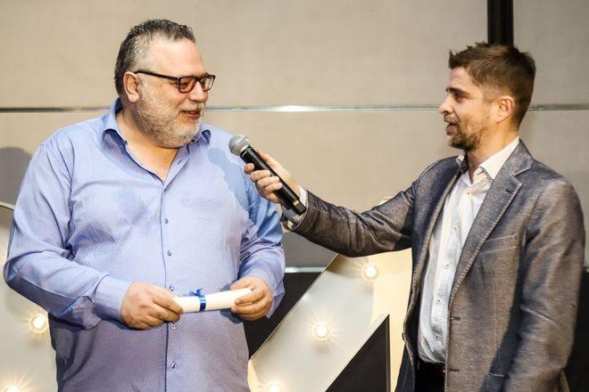 Από αριστερά: Γιάννης Φιλέρης και Παντελής Διαμαντόπουλος