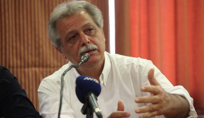 ΑΘΗΝΑ-Συνάντηση του προέδρου της ΚΟ του ΣΥΡΙΖΑ/ΕΚΜ Αλέξη Τσίπρα με το δήμαρχο Αργυρούπολης Ελληνικού Χρήστο Κορτζίδη, σχετικά με το Μητροπολιτικό Πάρκο Ελληνικού.(EUROKINISSI-ΓΙΑΝΝΗΣ ΠΑΝΑΓΟΠΟΥΛΟΣ)