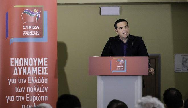 """Τσίπρας: """"Στη μάχη που έρχεται, βασικός μας στόχος είναι να φτάσει η αλήθεια σε κάθε σπίτι"""""""