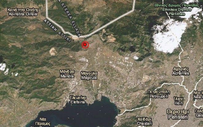 Ισχυρός σεισμός 5,1 Ρίχτερ - Αισθητός σε όλη την Αθήνα