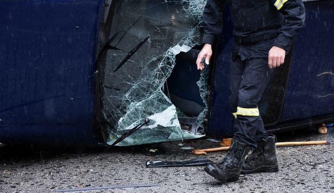 Τροχαίο ατύχημα - φωτογραφία αρχείου