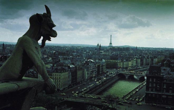 Ένα gargoyle της Notre Dame