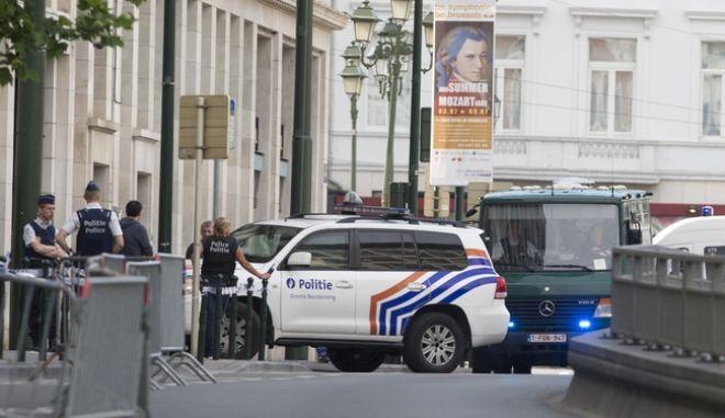 Αστυνομικές δυνάμεις στο Βέλγιο