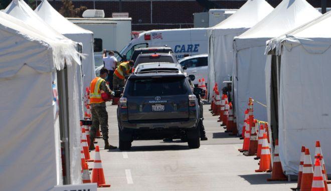 ΗΠΑ: 60.000 νεκροί ο απολογισμός των θυμάτων της πανδημίας στην Καλιφόρνια