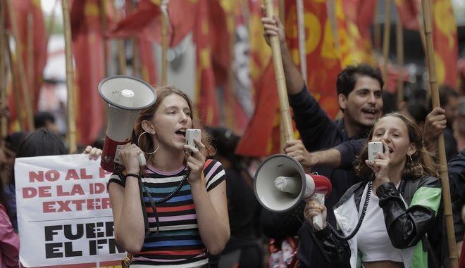 Διαδηλώσεις στο Μπουένος Άιρες.