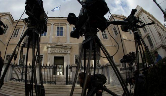 ΑΘΗΝΑ-Συνεδριάζει το Συμβούλιο της Επικρατείας (ΣτΕ) για τις τηλεοπτικές άδειες.(Eurokinissi-ΠΑΝΑΓΟΠΟΥΛΟΣ ΓΙΑΝΝΗΣ)