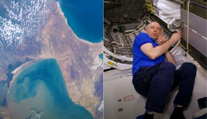 NASA: Για πρώτη φορά πλάνα 8K με αστροναύτες στο διάστημα