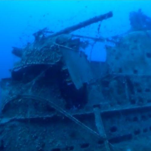 Κεφαλονιά: Μαγικές εικόνες από υποβρύχιο ναυάγιο 79 ετών