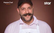 Ο Βασίλης Τσίκιλης του master chef που αποχώρησε