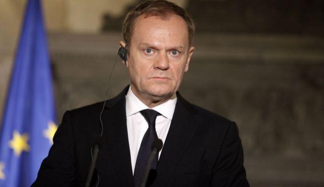 Ο Ντόναλντ Τουσκ επανεξελέγη πρόεδρος του Ευρωπαϊκού Συμβουλίου