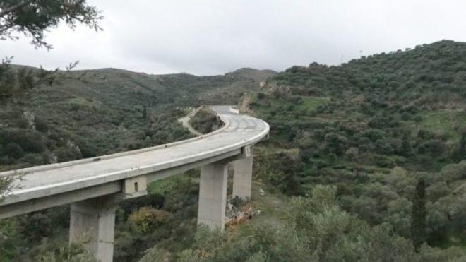 Έργα Κρήτης: Το μπλοκαρισμένο από το '12 Χερσόνησος - Γούρνες και η γέφυρα 840 μέτρων