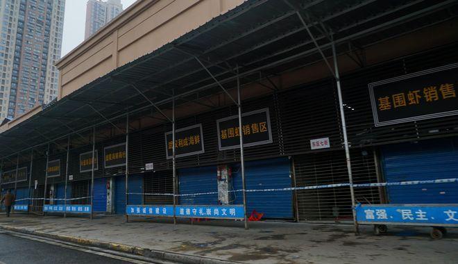 Αγορά Θαλασσινών στην πόλη Ουχάν στην Κίνα