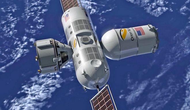 Το ξενοδοχείο πολυτελείας στο διάστημα