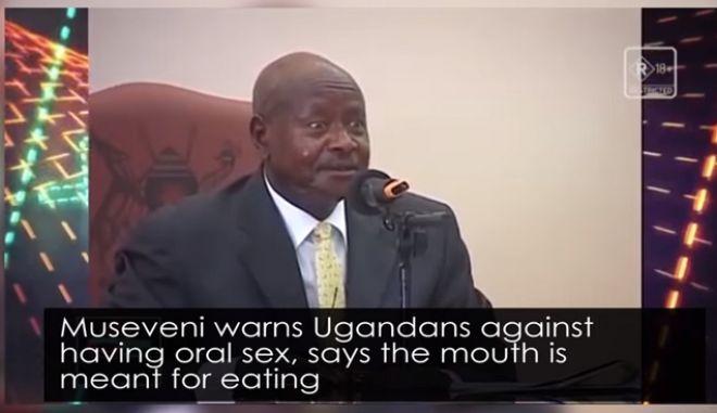 Ο Yoweri Museveni
