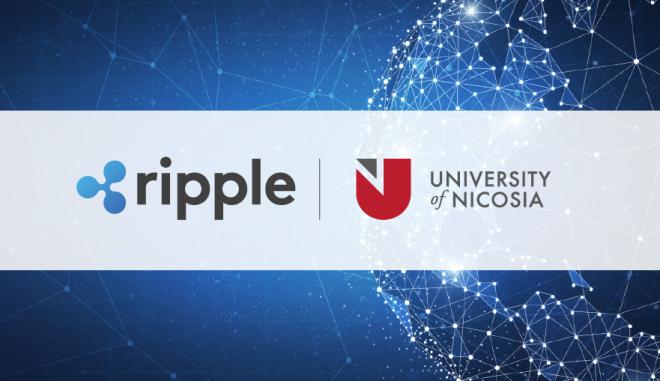 Στρατηγική συνεργασία Πανεπιστημίου Λευκωσίας με την Ripple για από κοινού έρευνα σε Blockchain και Ψηφιακό Νόμισμα