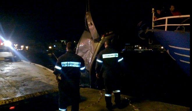 Βουτιά θανάτου στο λιμάνι της Μυτιλήνης