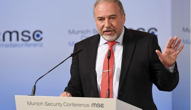 ο Ισραηλινός υπουργός Άμυνας Αβίγκντορ Λίμπερμαν