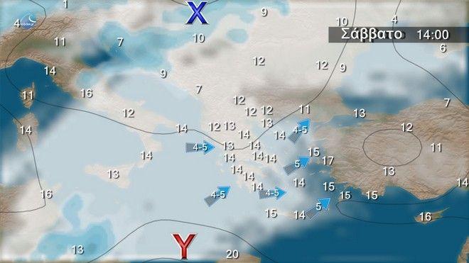 Καιρός: Τοπικές βροχές και πρόσκαιρη πτώση της θερμοκρασίας