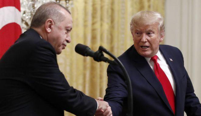 Ερντογάν: Συνδέει τις διαδηλώσεις για τον Φλόιντ με το PKK
