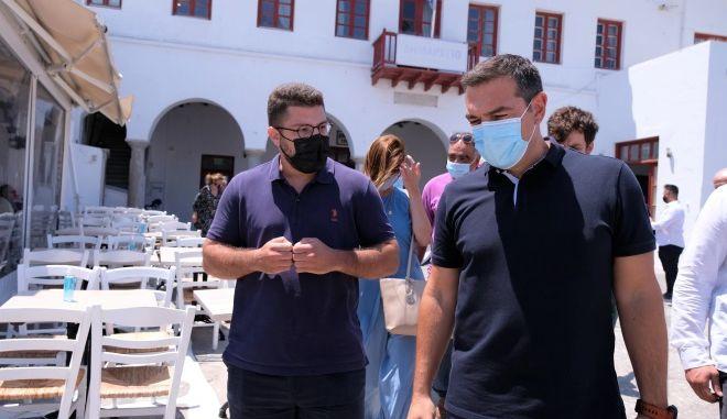 Τσίπρας από Μύκονο: Να αναδείξουμε λύσεις για να αποφευχθούν οι αρνητικές συνέπειες του lockdown
