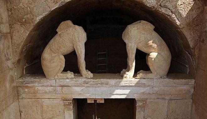 Λόφος «Καστά», στην Αμφίπολη