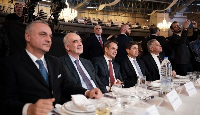 Στιγμιότυπο από την εκδήλωση της ΝΟΔΕ Ηρακλείου
