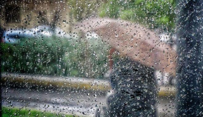 Βροχή στην Αθήνα. Φωτο αρχείου.