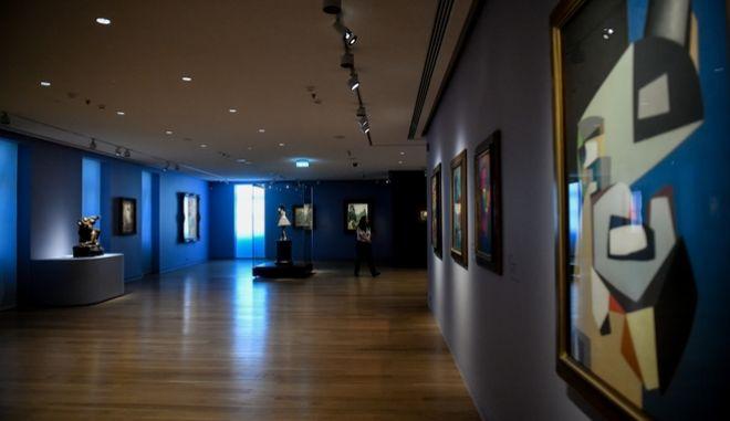 Το νέο μουσείο Σύγχρονης Τέχνης του Ιδρύματος Βασίλη και Ελίζας Γουλανδρή,στην οδό Ερατοσθένους στο Παγκράτι.
