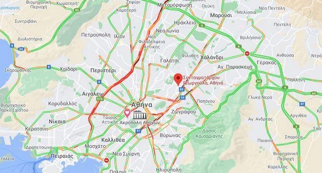 Κίνηση στους δρόμους: Το αδιαχώρητο στον Κηφισό - Στα