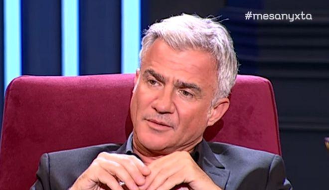 """Αργυρόπουλος: """"Μπήκα στα ναρκωτικά από τα 15 μου, μέχρι που έπιασα πάτο στα 40"""""""
