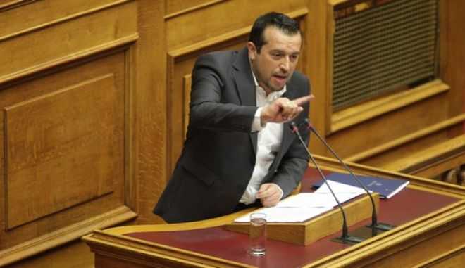 Συζήτηση στην Ολομέλεια της Βουλής, για τις προγραμματικές δηλώσεις της κυβέρνησης την Τετάρτη 7 Οκτωβρίου 2015. (EUROKINISSI/ΓΙΑΝΝΗΣ ΠΑΝΑΓΟΠΟΥΛΟΣ)