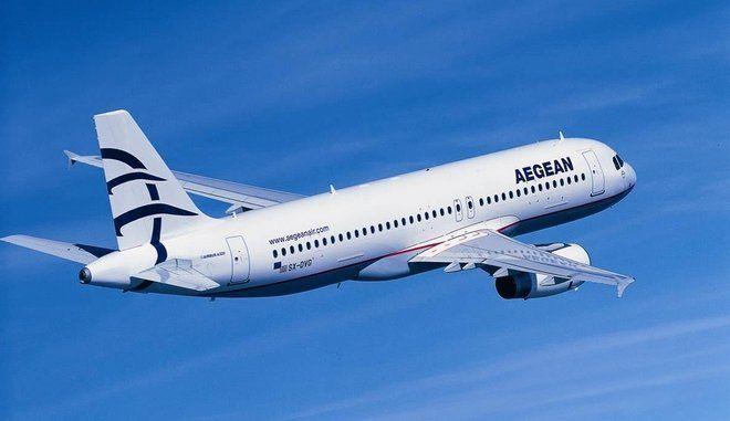 "Aegean: 16% αύξηση στην κίνηση εξωτερικού με ""κόντρα άνεμο"""