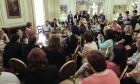 Από τη συνάντηση Τσίπρα με εκπροσώπους καθαριστριών στο Μαξίμου