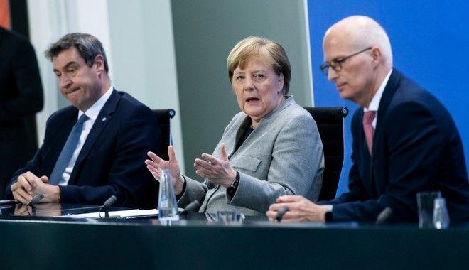 Κορονοϊός - Γερμανία: Παράταση των μέτρων ως τις 3 Μαΐου, ανοίγουν τα εμπορικά
