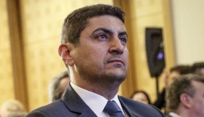 O γραμματέας της Κεντρικής Επιτροπής της ΝΔ Λευτέρης Αυγενάκης